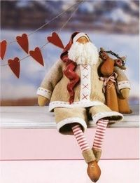 Santa Claus tutorial-this is too cute!