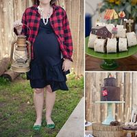 Camping-Themed Baby Shower