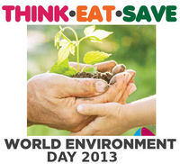 "World Environment Day 2013 �€"" Think.Eat.Save!"