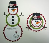 Inking Idaho: Snowman with Instructions