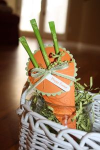 Stampin' Up! Treat Holder Amanda Hartley Petal Cone Easter Carrot