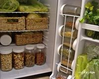 raw food fridge! - Love this