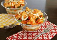 APPLE A DAY: Moroccan Chicken & Carrot Salad