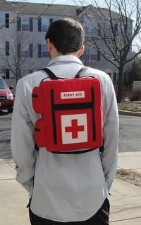 Left 4 Dead Inspired Medkit Backpack by WTCrafts on Etsy, $55.00