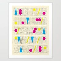 Alphabet Remix #1 Art Print by marcusmelton - $19.99