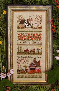 Pumpkin Patch Farm Sampler - Cross Stitch Pattern