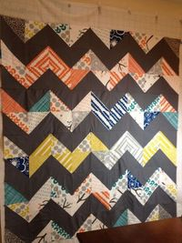 Layer cake chevron