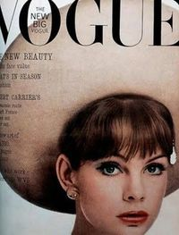 Vogue cover from 1963