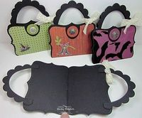Top note halloween purses