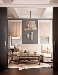 Living Room #neutral #gray #white #couch