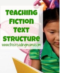 Teaching Fiction Text Structure Mini-Series {This Reading Mama}