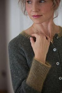 Galvanized Cardigan by Amy Christoffers