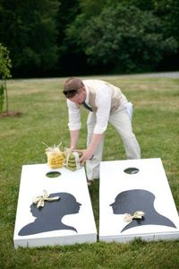 Outside wedding - Click image to find more Wedding & Events Pinterest pins