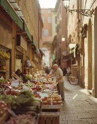 Shopping in Bologna, Italy