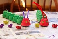 The Very Hungry Caterpillar | recycling egg cartons!