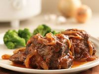 Slow Cooker Sweet and Tangy Short Ribs