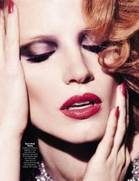 Jessica Chastain by Andrea Cangioli for GQ Italia, February 2013