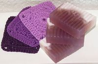 Lilac Natural Luxe Soap & Washcloth Gift Set