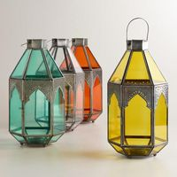 Antigua Tabletop Lanterns available in-store only Cost Plus World Market >> #WorldMarket Outdoor Movie Night
