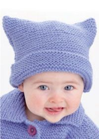Free knitting pattern: baby hat