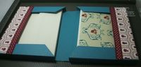 Tutorial double pocket stationery book