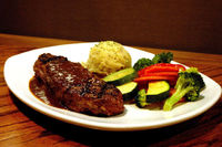 Outback Steakhouse: Grilled Peppercorn Ny Strip