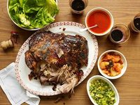 Definitely going to make this, and soon... Pork Ssam from Momofuku.