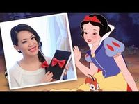 DIY: Snow White inspired red bow #ValentinesDay