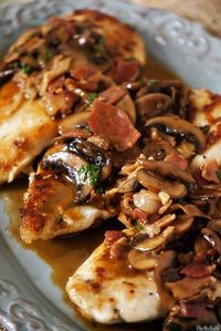 Chicken Marsala - Click image to find more popular food & drink Pinterest pins
