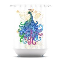 Peace, shower curtain on Kess by Catherine Holcombe