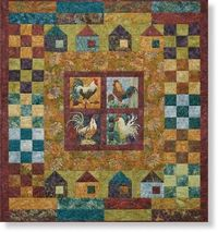 All Cooped Up - Quilt Assembly Pattern by McKenna Ryan