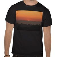 Sunset over Los Angeles T-shirt