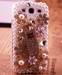 New Bling Crystal Sparkle Perfume Bottle Samsung Galaxy S3 i9300 Case