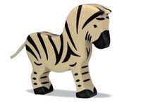 Holztiger Wooden Zebra