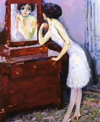 In Front of the Mirror 1908, kees van dongen