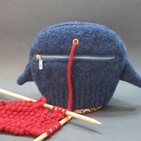 Tweet the knitter's critter by popsiedaisy - quality quirk.