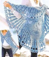 Crochet Sweater: Crochet Circular Vest Need this pattern to make!?!