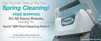 Spring Cleaning With iRobot!
