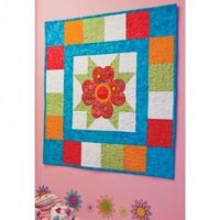 Fun table topper - using the Accuquilt Go!