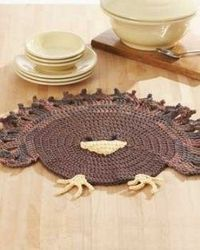 Kitchen Placemat Crochet Patterns
