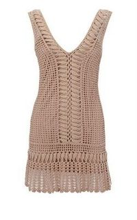 Crocheted summer dress/top