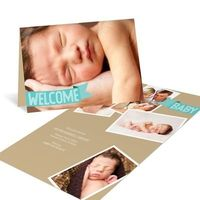 banner birth announcements