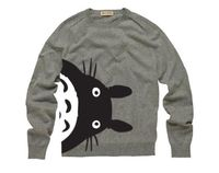 grey #Totoro sweater