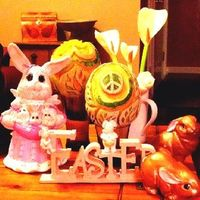 Happy Easter. May you find happiness and a calm within. Show kindness to all and it wii be.