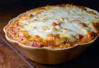 Baked Ziti with Mini Meatballs....this is one of the best casseroles EVER! - Click image to find more popular food & drink Pinterest pins