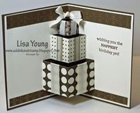 4/13/2012; Lisa Young at Add Ink and Stamp blog; Birthday Pop Up Card; great directions!!