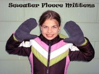 Sweater Fleece Mittens - The College Seamstress