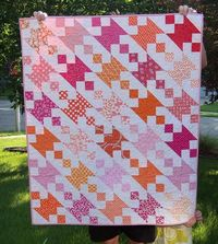 Modern take on an old quilt pattern