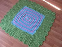 Simply stunning baby blanket.
