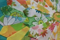 vintage sheet dresden :) by thecupcakery girl, via Flickr